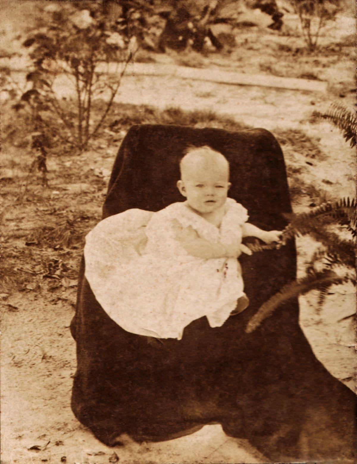 Lula Ceil Johnston - 6 mos old