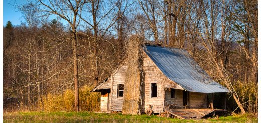 Photo of a small house - the oldest in Union County in North Georgia