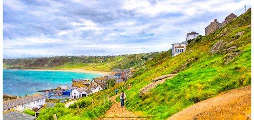 Photo Art of Sennen Cove in Cornwall