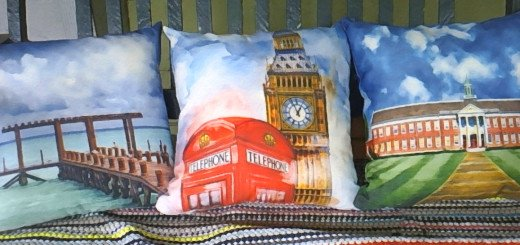 A Trio of Decorative Throw Pillows