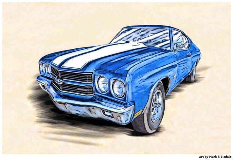 1970 Chevelle Artwork – Classic Chevy