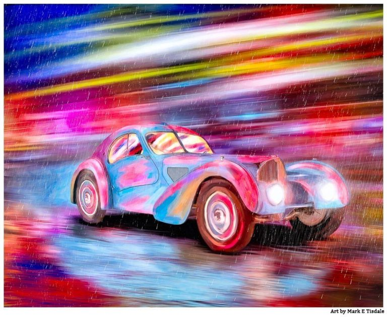 Bugatti Type 57 – Classic Car Art Print