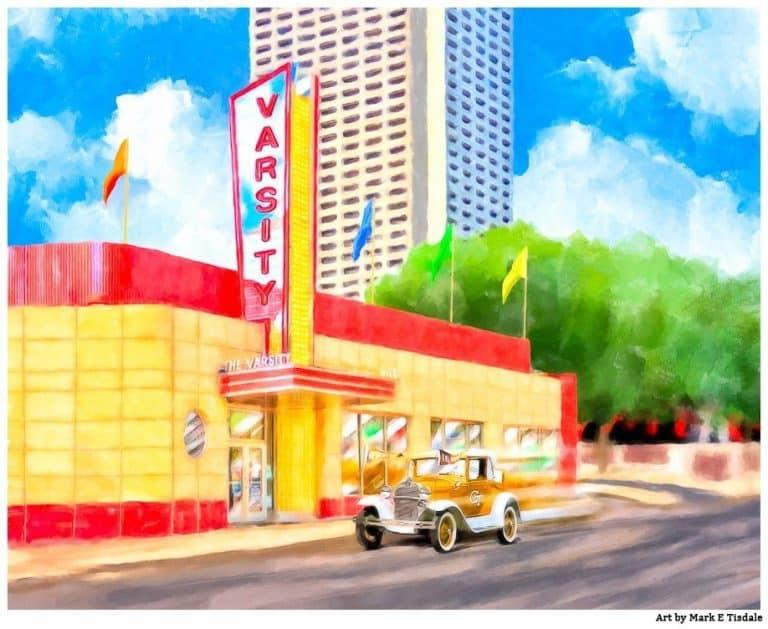 Atlanta Varsity – Vintage Midtown Art