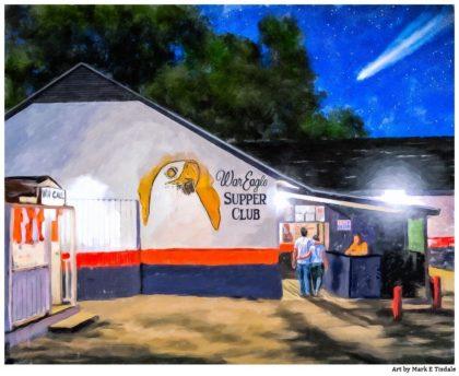 Auburn Tradition - War Eagle Supper Club Art Print