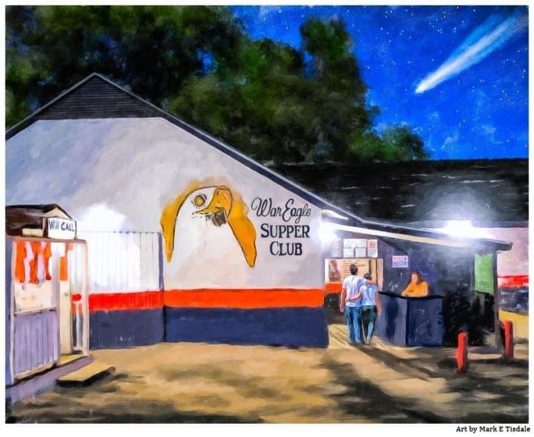Auburn Tradition – War Eagle Supper Club Art