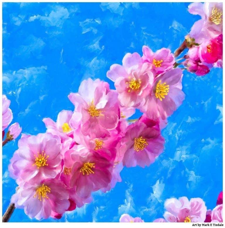 Cherry Blossom Artwork – Impressions Of Spring