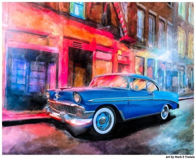 Classic Chevy Art – 1956 America