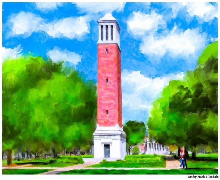 Denny Chimes – University Of Alabama Art