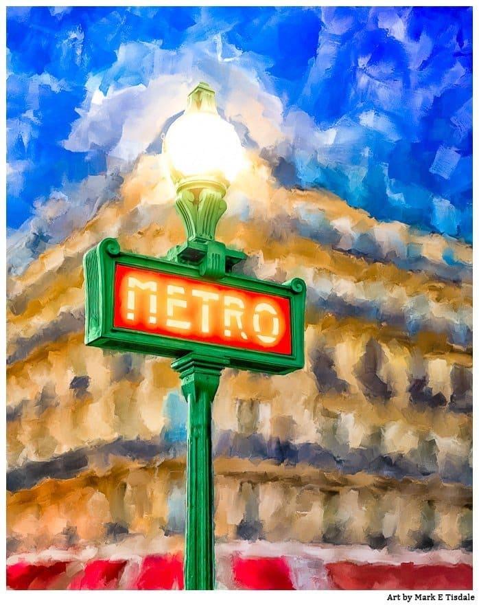 Evening In Paris Painting