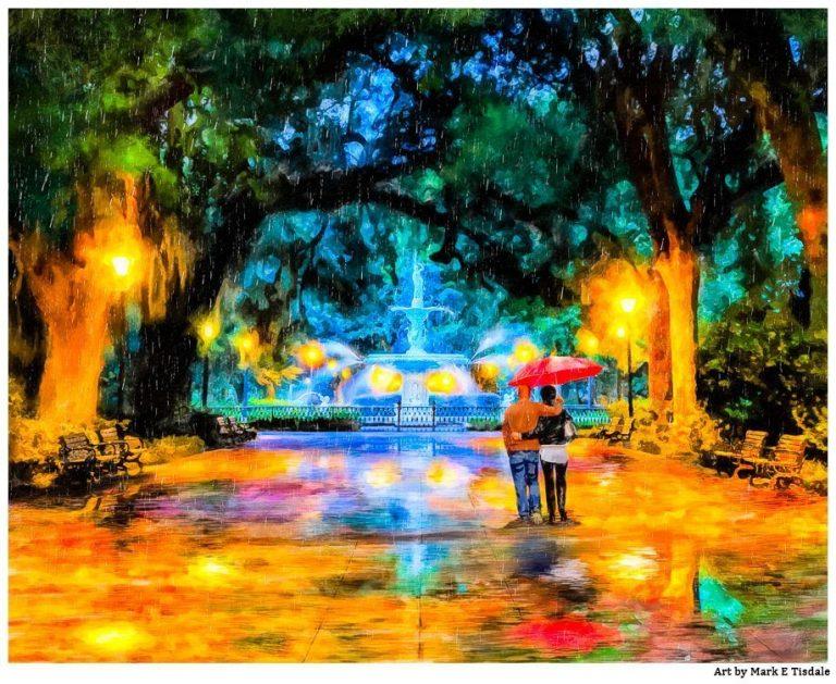 Forsyth Park – Savannah Fountain