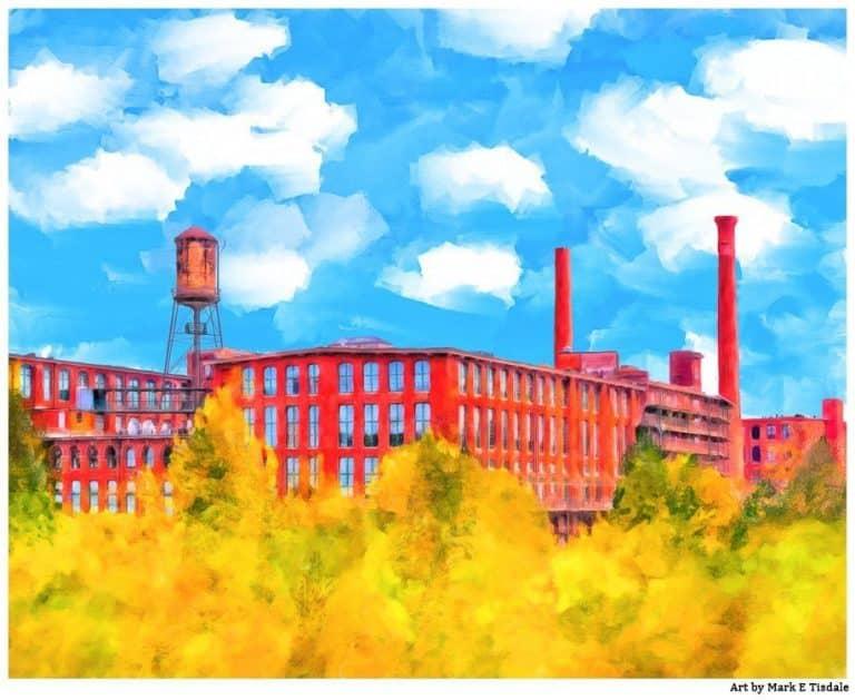 Fulton Cotton Mill – Historic Atlanta Art