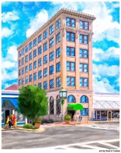 Historic Andalusia - First National Bank Building or Timmerman Building Art Print