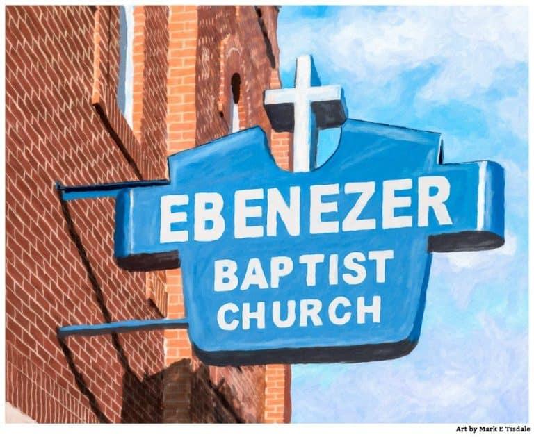 Historic Ebenezer Baptist Church – Sweet Auburn