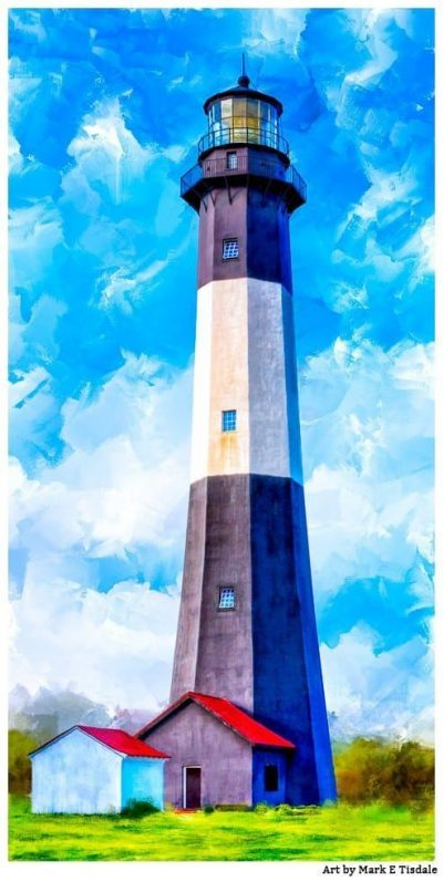 Historic Tybee Lighthouse Art Print