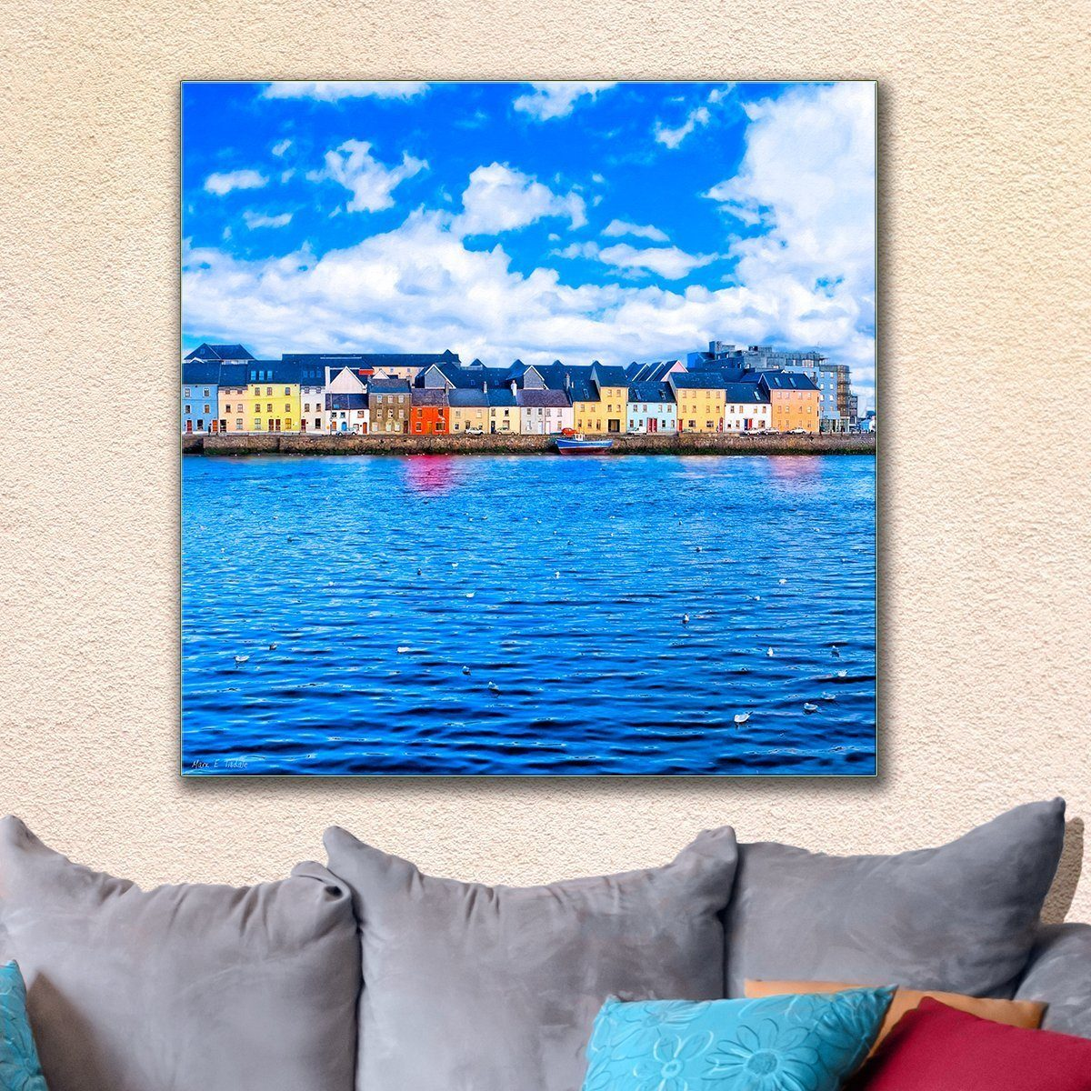 Irish Seaside - Galway Canvas Art Print