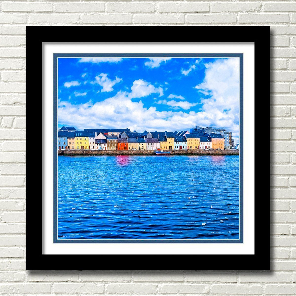 Irish Seaside - Galway Framed Art Print