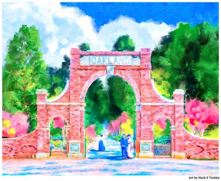 Oakland Cemetery Gates – Atlanta