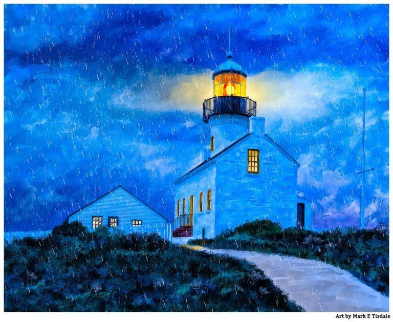 Point Loma Lighthouse Art