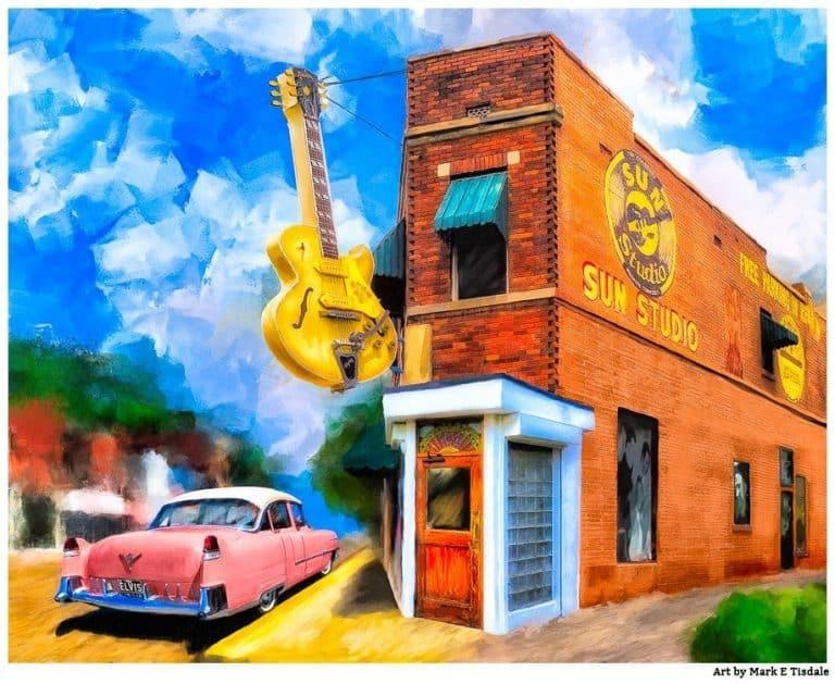 Rock Music Artwork – Sun Studio Print