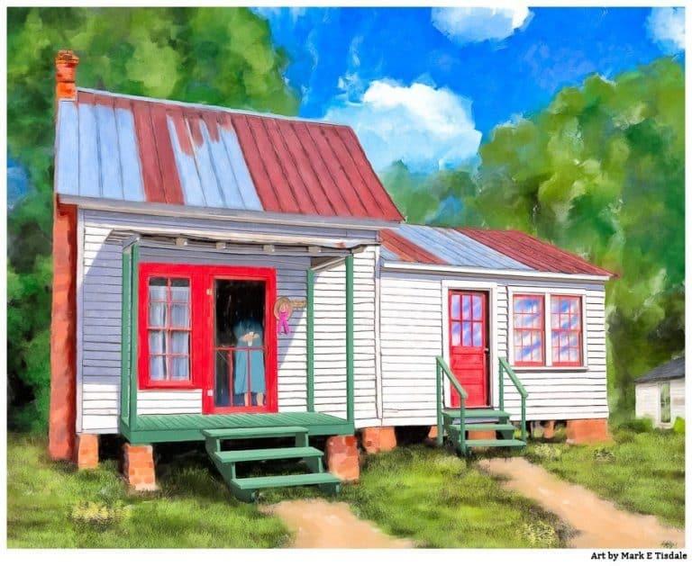 Rustic Farmhouse Art – Grandma's Cottage