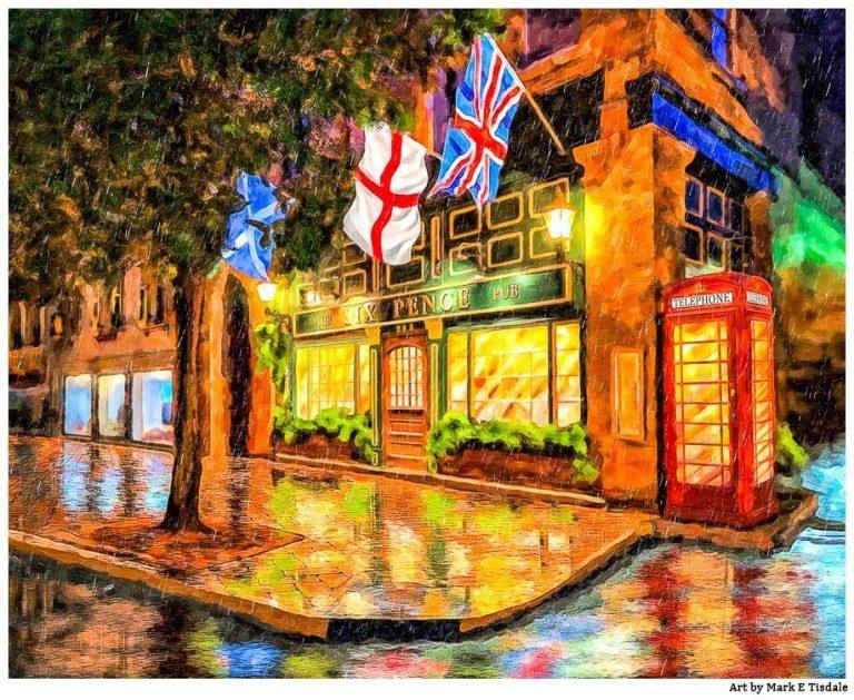 Six Pence Pub – Savannah Art