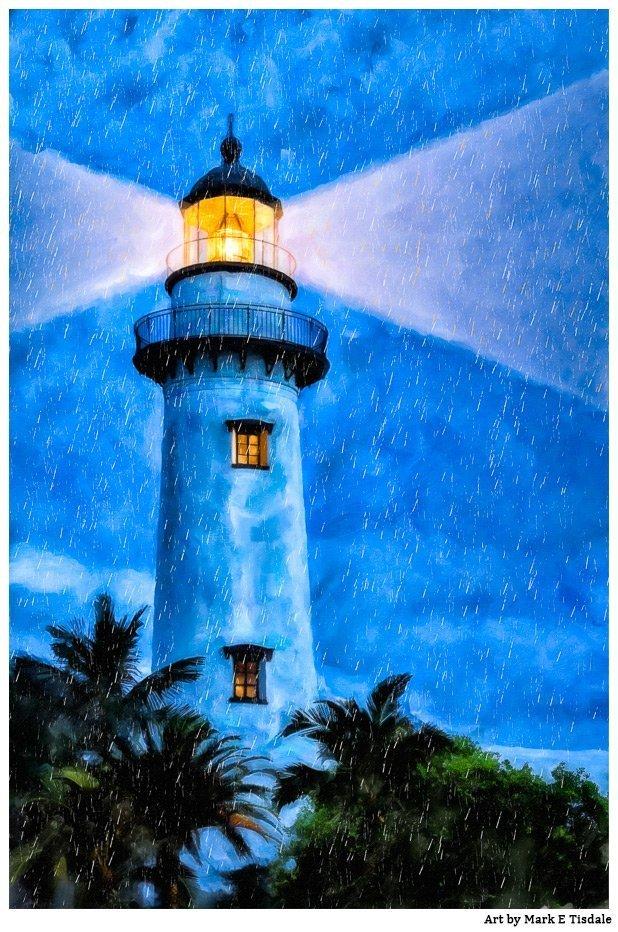 St. Simons Island Artwork – The Lighthouse