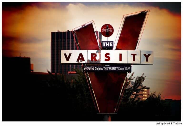 The Varsity – Landmark Atlanta Print