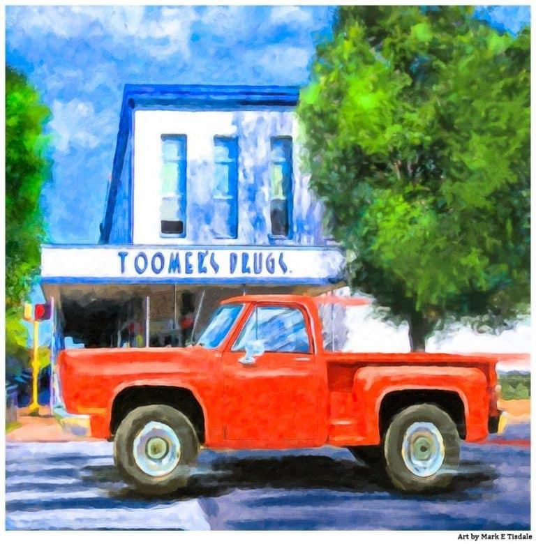 Toomer's Drugs – Auburn Landmark Art