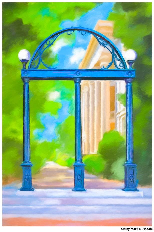 University Of Georgia Prints – The Arch