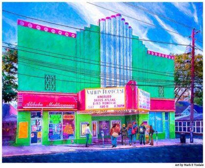 Variety Playhouse - Atlanta - Little Five Points Print by Mark Tisdale