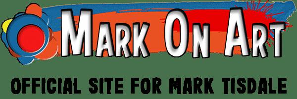 Mark On Art - Official Site of Mark E Tisdale Artist - Mobile Logo
