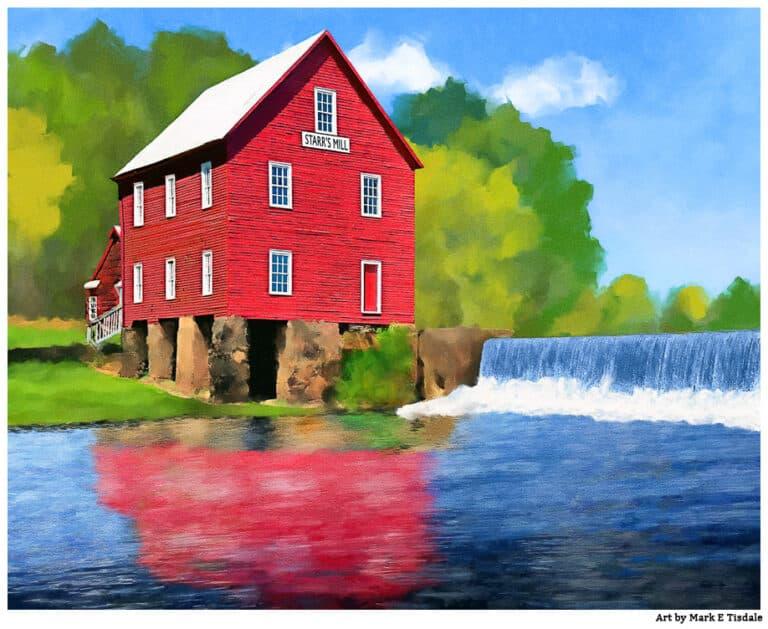 Starr's Mill – Historic Georgia Grist Mill